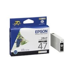 その他 (業務用40セット) EPSON エプソン インクカートリッジ 純正 【ICBK47】 ブラック(黒) ds-1732144