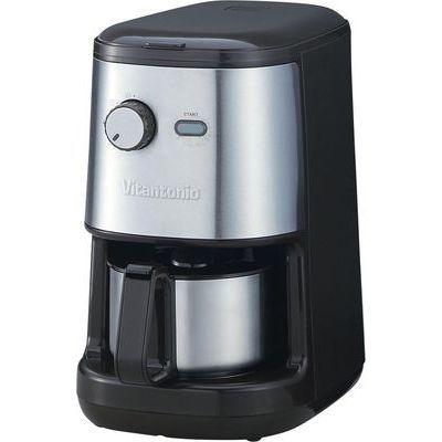 【代引手数料無料】Vitantonio(ビタントニオ) 全自動コーヒーメーカー ブラウン Lif510-BR