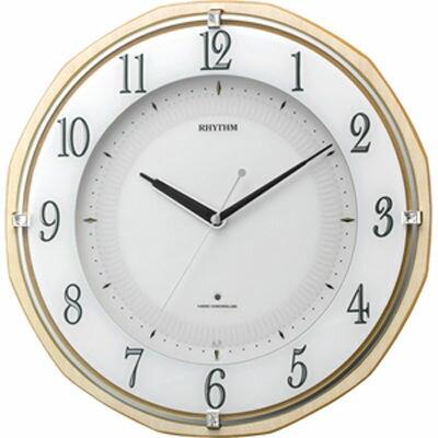 【代引手数料無料】リズム時計 リバライトRW496 8MY496SR06