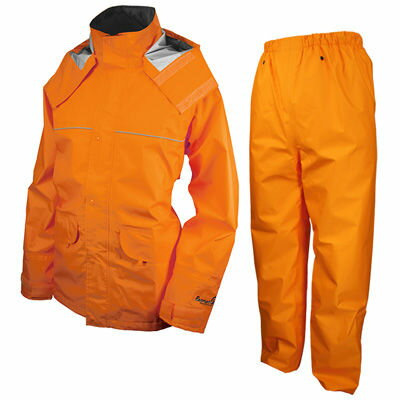 URVAN(アーヴァン) レインスーツ 千両万両 オレンジ LL #9850 AA-17933