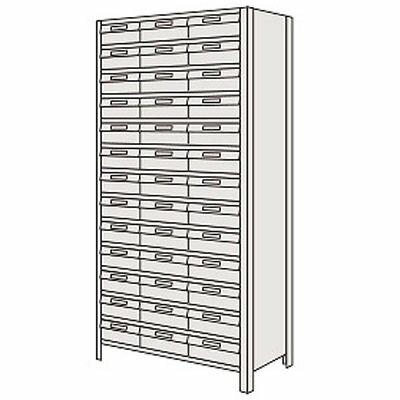サカエ 物品棚LEK型樹脂ボックス LEK2124-72G