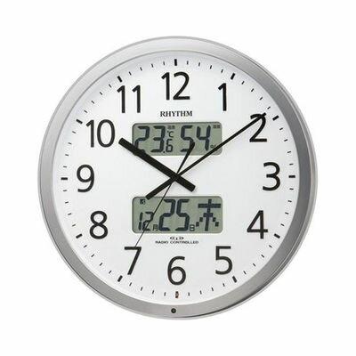 【代引手数料無料】リズム時計 プログラムカレンダー403SR 4FN403SR19
