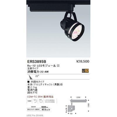 【代引手数料無料】遠藤照明 LEDZ Rs series 生鮮食品用照明(スポットライト) ERS3895B