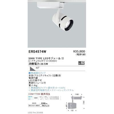 【代引手数料無料】遠藤照明 LEDZ ARCHI series スポットライト ERS4574W