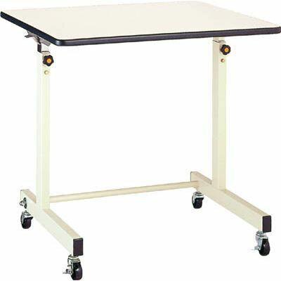 丸善精工 丸善 ポールチャック式補助デスク 木製テーブル 移動式 750×600mm CS750M1