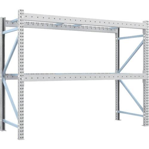 トラスコ中山 TRUSCO ��パレット棚2トン25��×9��×H2����体 2段 2D-20B25-09-2