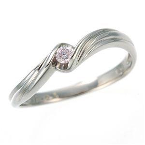 b906c1e9b2 その他 0.05ctピンクダイヤリング 指輪 ウェーブ 7号 ds-453322 人気 ...
