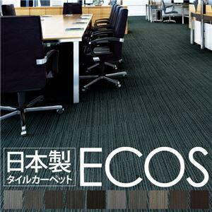 その他 スミノエ タイルカーペット 日本製 業務用 防炎 撥水 防汚 制電 ECOS LX-1123 50×50cm 20枚セット 【日本製】【代引不可】 ds-1399171