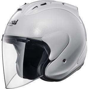 その他 ジェットヘルメット シールド付き SZ-RAM4 グラスホワイト 57-58 【バイク用品】 ds-1443344