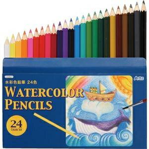 その他 (まとめ)アーテック 水彩色鉛筆24色 【×40セット】 ds-1567084