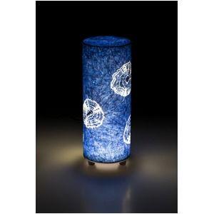 素敵な素材 その他 LED 和室 モダン照明 BF300-acスタンドライト藍染絞り 【日本製】 ds-1677029