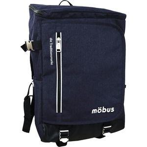 その他 ドイツブランド Mobus(モーブス) トップオープンカンケンスクウェアーバッグ ネイビー ds-1676040