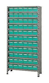 【代引き不可】 物品棚LEK型樹脂ボックス LEK1112-60T