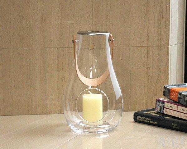 ホルムガード ランタン/デザイン ウィズ ライト 4343501 クリアM 25cm 【YDKG-s】【HLS_DU】【RCP】【キャンドルホルダー Lantern フラワーベース】