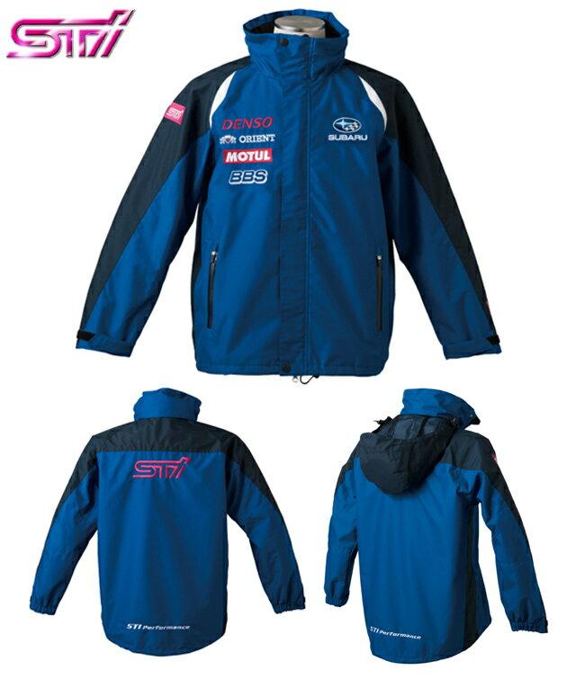 【STI-スバル】STI2012年度版 GTチームジャケット/ブルゾン【SaM】