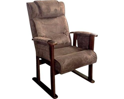 TVが見易い腰楽高脚座椅子RZK-アトムDBR ダークブラウン(介護用品 便利グッズ 老人 お年寄り 高齢者 介護椅子 いす イス) 【敬老の日】
