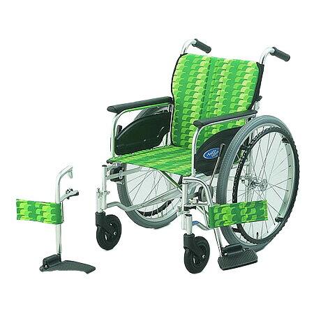 購入 車椅子・折りたたみ自走用車椅子NA-406FO日進医療器自走 折りたたみ 車いす 車イス 介護用品 送料無料 【敬老の日】