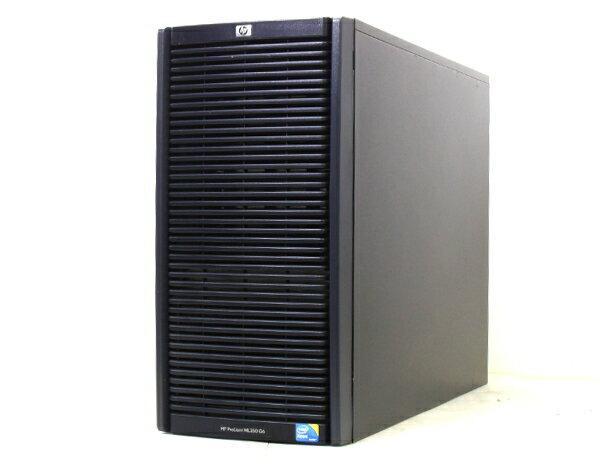 hp ProLiant ML350G6 XeonE5540-2.53GHz/4GB/450GB*2/RAID/DVD 【中古】【20160201】