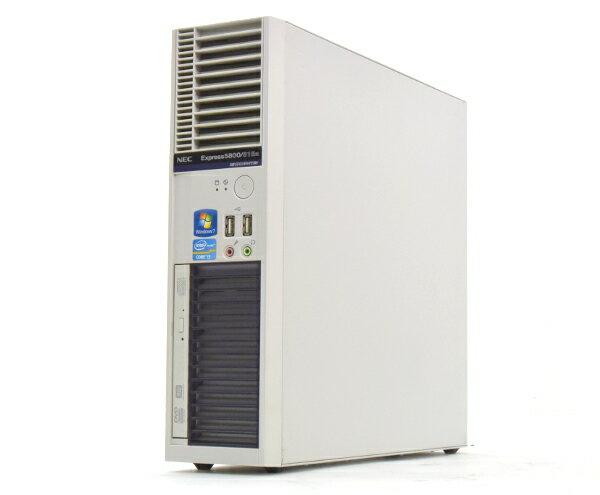NEC Express5800/51Ea Core i3 3.3GHz/4GB/500GB*2/RAID/Win7 【中古】【20160425】