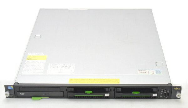 富士通 PRIMERGY RX100S6 Core i3 3.06GHz/2GB/300GB*2/RAID/DVD 【中古】【20161028】