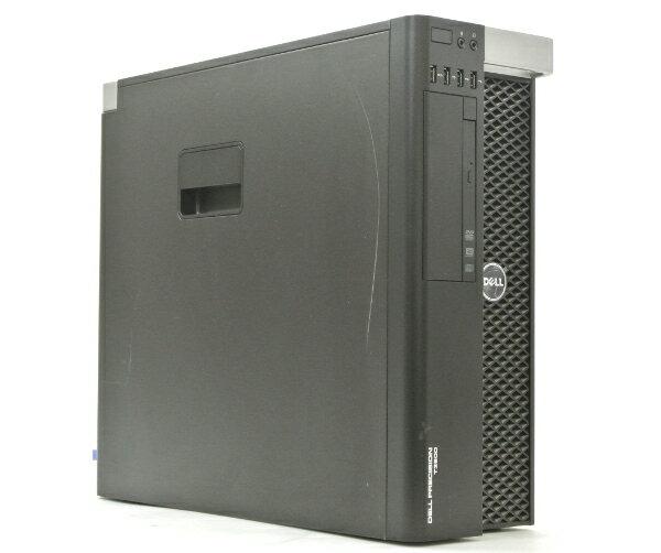 DELL Precision T3600 Xeon E5-1620 3.6GHz 4GB 250GB Quadro4000 DVDマルチ Windows7 Pro 64bit PERC H310 【中古】【20170410】