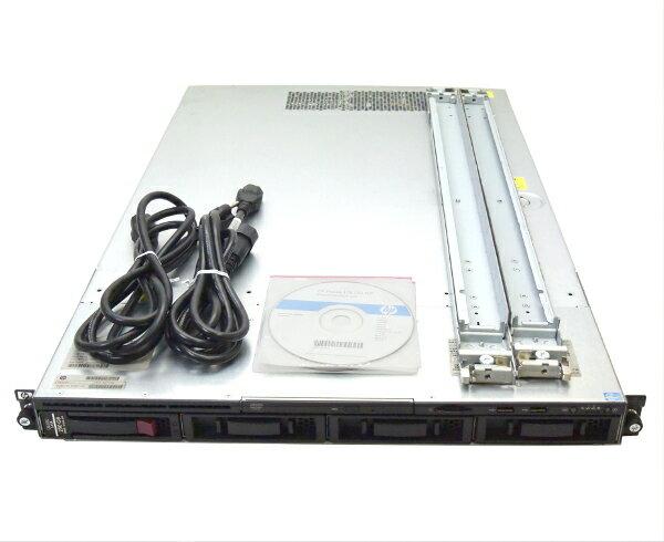 hp ProLiant DL120 G7 Xeon E3-1220 3.1GHz 4GB 250GB (SATA3.5インチ) DVD-ROM SmartArray-B110i 【中古】【20170420】