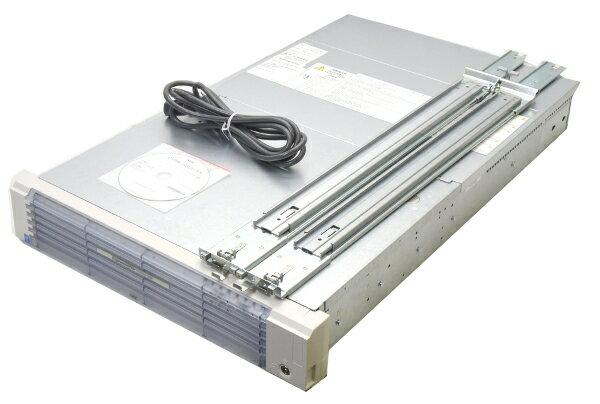 NEC Express5800/R120e-2M Xeon E5-2609v2 2.5GHz*2 32GB 300GBx2台 (SAS2.5インチ/6Gbps/RAID1構成) DVD-ROM RAID 【中古】【20170428】
