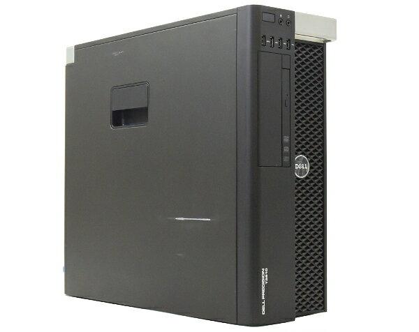 DELL Precision T3610 Xeon E5-1620v2 3.7GHz 16GB 500GB QuadroK4000 DVDマルチ Windows7Pro64bit(8Proダウングレード)  【中古】【20170501】