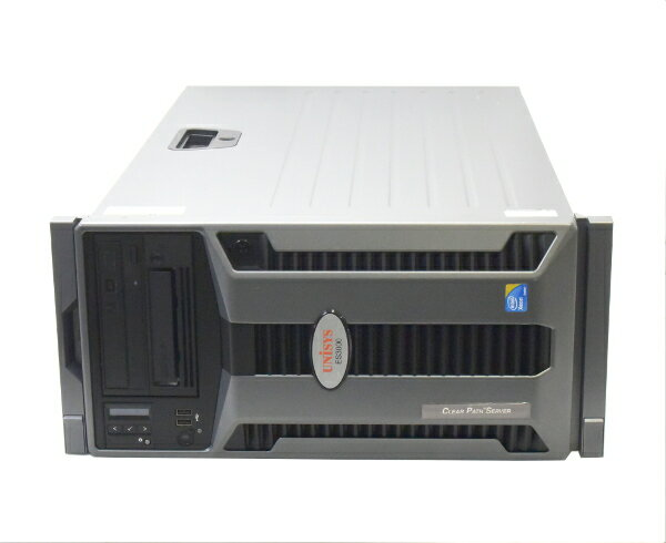 UNISYS ES3000 (DELL PowerEdge T710 OEM) Xeon X5560 2.8GHz 8GB 600GBx2台 (SAS2.5/6Gbps/RAID1構成) DVDマルチ AC*2 RAID 【中古】【20170509】