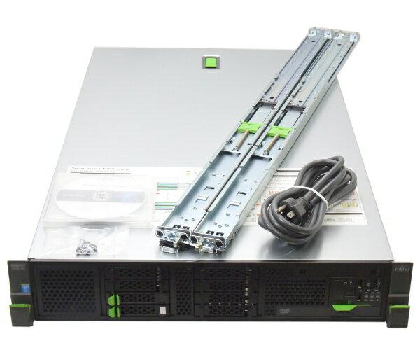 富士通 PRIMERGY RX300 S8 Xeon E5-2609v2 2.5GHz*2 8GB 300GBx2台 (SAS2.5インチ/6Gbps/RAID1構成) DVD-ROM RAID 【中古】【20170518】