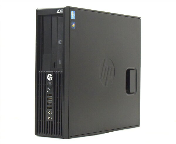 hp Z220 SFF Xeon E3-1270v2 3.5GHz 4GB 500GB Quadro600 DVD-ROM Windows7Pro64bit  【中古】【20170515】