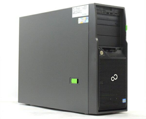 富士通 PRIMERGY TX150 S8 Xeon E5-2407 2.2GHz 8GB 600GBx2台 (SAS3.5インチ/6Gbps/RAID1構成) DVD-ROM RAID 【中古】【20170524】