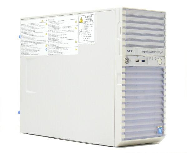 NEC Express5800/T110g-E Pentium G3240 3.1GHz 4GB 160GBx2台 (SATA3.5インチ/RAID1構成) DVD-ROM RAID 【中古】【20170609】