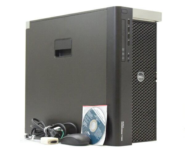 DELL Precision T7610 Xeon E5-2687W v2 3.4GHz*2 64GB 1TBx2台構成 QuadroK600 DVDマルチ Windows7Pro64bit  【中古】【20170612】
