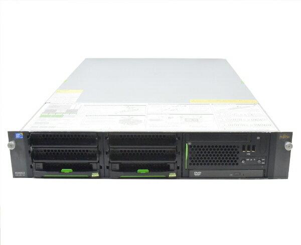 富士通 PRIMERGY RX300 S6 Xeon X5690 3.46GHz*2 48GB 600GBx2台 (SAS3.5インチ/6Gbps/RAID1構成) DVD-ROM AC*2 RAID 【中古】【20170526】