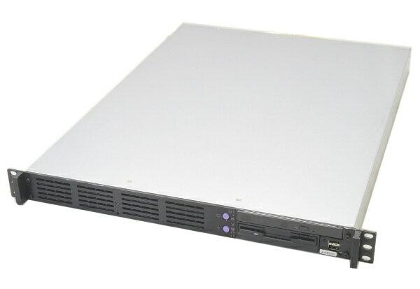 SuperMicro X8STI-Fマザー搭載 6コア1Uラックマウントサーバー Xeon W3670 3.2GHz 6GB 500GB  DVDマルチ 【中古】【20170531】