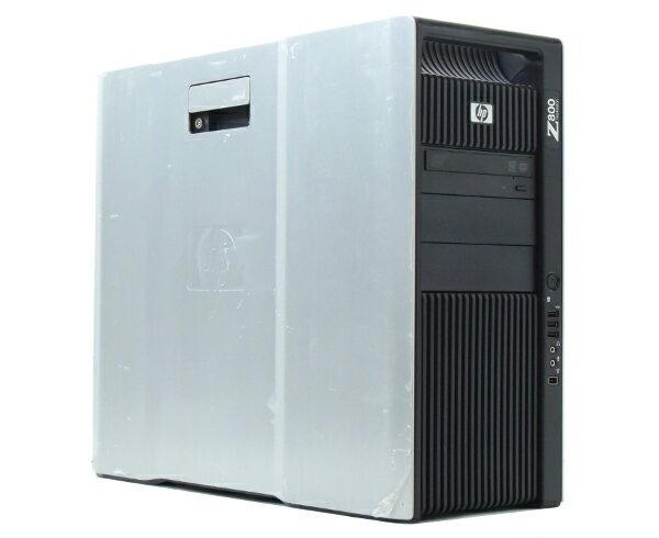 hp Z800 Xeon X5650 2.66GHz*2 24GB 450GB(SAS3.5インチ) Quadro4000 DVDマルチ Windows7Pro64bit  【中古】【20170616】