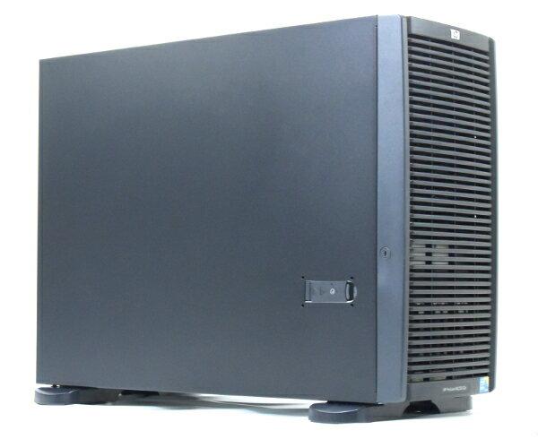 hp ProLiant ML350 G6 Xeon E5520 2.26GHz 6GB 300GBx7台(SAS2.5インチ/6Gbps/RAID5構成) DVDマルチ AC*2 SmartArray P410i 【中古】【20170712】