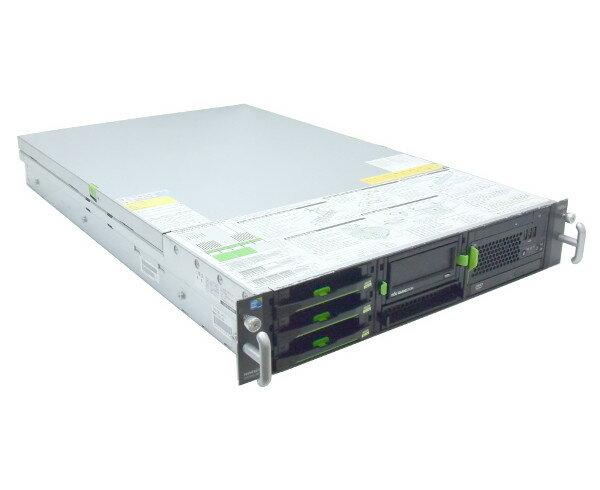 富士通 PRIMERGY RX300 S6 Xeon E5620 2.4GHz*2 12GB 300GBx3台(SAS3.5インチ/6Gbps/RAID6構成) DVD-ROM AC*2 RAID 【中古】【20170712】