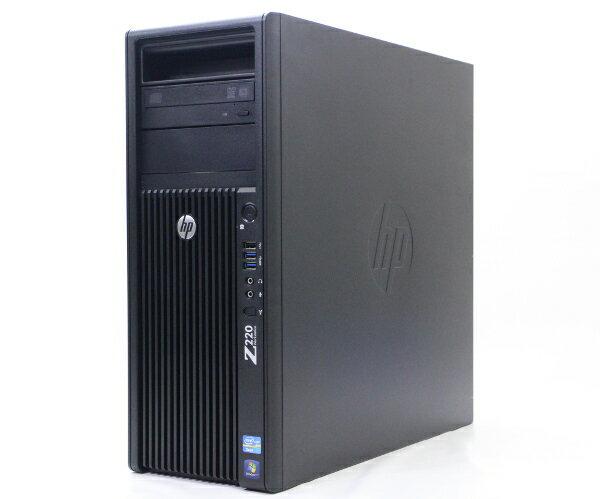 hp Z220 CMT Xeon E3-1270v2 3.5GHz 8GB 1TB(HDD)+24GB(キャッシュ用SSD)、計2台構成 Quadro2000 DVD+-RW Windows7Pro64bit  【中古】【20170725】