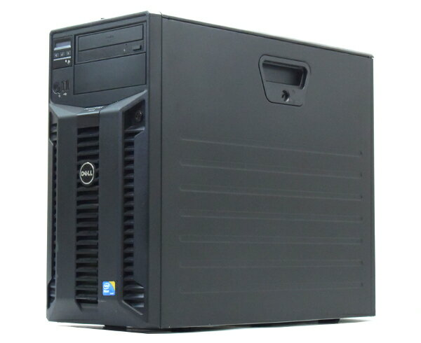 DELL PowerEdge T310 Xeon X3450 2.66GHz 4GB 500GBx2台(SATA3.5インチ/RAID1構成) DVD-ROM AC*2 SAS6/iR 【中古】【20170726】