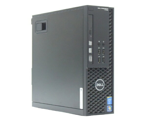 DELL Precision T1700 SFF Core i5-4570 3.2GHz 12GB 1TB QuadroK600 DVDマルチ Windows7Pro64bit  【中古】【20170726】