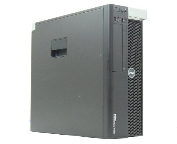 DELL Precision T5610 Xeon E5-2609v2 2.5GHz*2 32GB 500GB QuadroK4000 DVD-ROM Windows7Pro64bit  【中古】【20170726】
