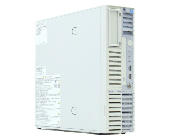 NEC Express5800/T110g-S Pentium G3240 3.1GHz 8GB 500GBx2台(SATA2.5インチ/RAID1構成) DVD-ROM RAID 【中古】【20170804】