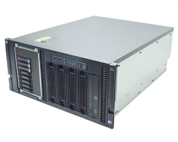 hp ProLiant ML350 G6 (ラック) Xeon E5620 2.4GHz 6GB 600GBx3台(SAS2.5インチ/6Gbps/RAID5構成) DVD AC*2 SmartArray-P410i 【中古】【20170823】