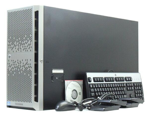 hp ProLiant ML350e Gen8 Xeon E5-2403 1.8GHz*2 16GB 1TBx2台(SATA3.5インチ/RAID1構成) DVD-ROM SmartArray-B120i 【中古】【20170824】