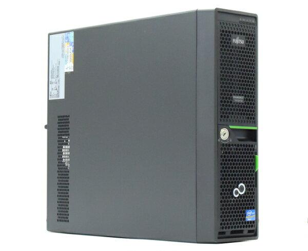 富士通 PRIMERGY TX120 S3 Xeon E3-1220v2 3.1GHz 4GB 1TBx2台(SATA3.5インチ/RAID1構成) DVD-ROM RAID 【中古】【20170825】