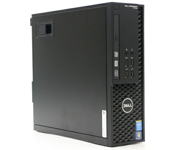 DELL Precision T1700 SFF Core i5-4570 3.2GHz 8GB 1TB QuadroK600 DVD+-RW Windows7Pro64bit  【中古】【20170901】