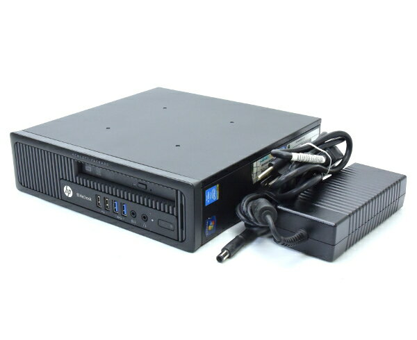 hp EliteDesk 800 G1 USDT Core i5-4690S 3.2GHz 8GB 500GB DisplayPort2系統/アナログRGB出力 DVD+-RW Windows7Pro64bit  【中古】【20170911】