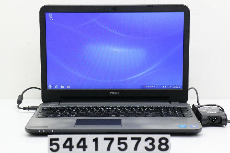 DELL Latitude 3540 Core i5 4200U 1.6GHz/4GB/500GB/Multi/15.6W/FWXGA(1366x768)/Win7【中古】【20170512】